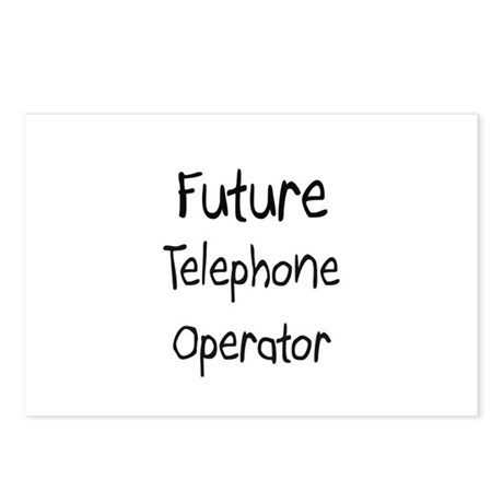 Future Telephone Operator Postcards (Package of 8)