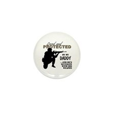 Funny Soldier Mini Button (10 pack)
