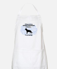 German Shepherds In Heaven BBQ Apron