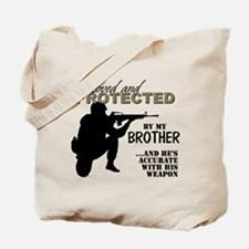 Unique Marine sister Tote Bag
