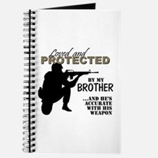 Cute Military brother Journal