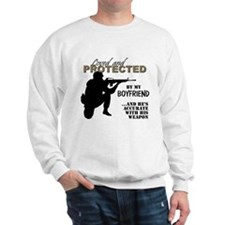 Cute Special forces girlfriend Sweatshirt