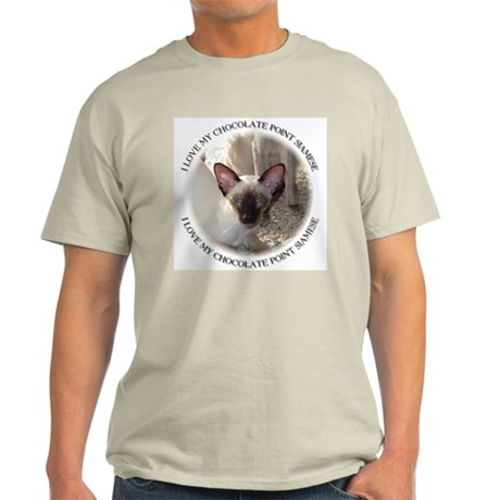 chocolate point Siamese Light T-Shirt