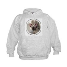 chocolate point Siamese Hoodie