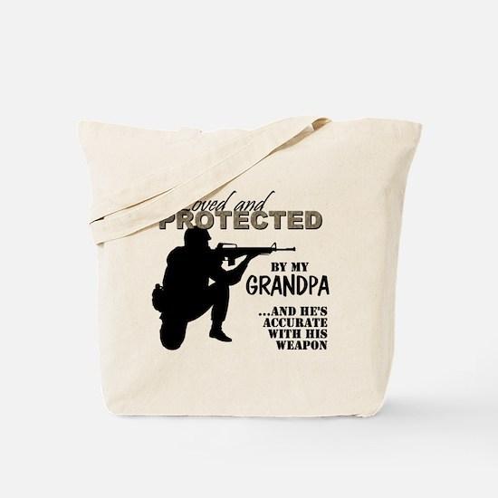 Cute Grandpa Tote Bag