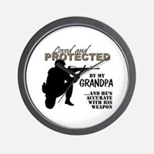 Unique Grandpa Wall Clock