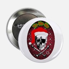 """Pirate Christmas 2.25"""" Button (10 pack)"""