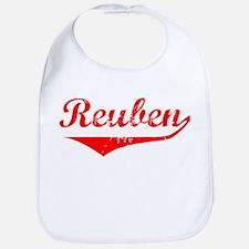 Reuben Vintage (Red) Bib