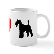 I Heart Wirehaired Fox Terrier Mug