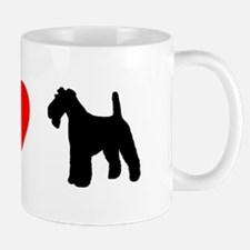 I Heart Wirehaired Fox Terrier Mug