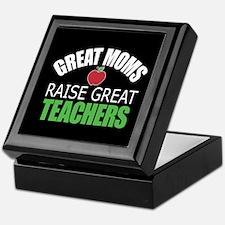 Moms Raise Teachers Keepsake Box