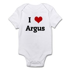 I Love Argus Infant Bodysuit