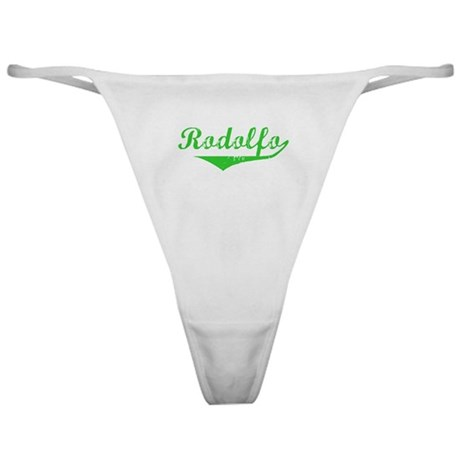 Rodolfo Vintage (Green) Classic Thong