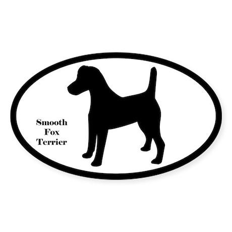 Smooth Fox Terrier Silhouette Sticker