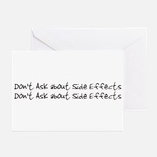 Side Effects Greeting Cards (Pk of 10)