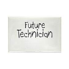Future Technician Rectangle Magnet