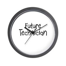 Future Technician Wall Clock