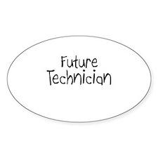 Future Technician Oval Decal