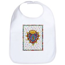 Guadalupe Crown Milagro Bib