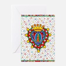 Guadalupe Crown Milagro Greeting Card