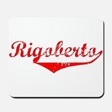 Rigoberto Vintage (Red) Mousepad