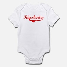Rigoberto Vintage (Red) Infant Bodysuit