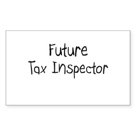 Future Tax Inspector Rectangle Sticker