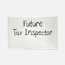 Future Tax Inspector Rectangle Magnet