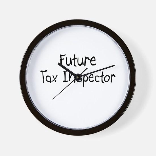 Future Tax Inspector Wall Clock
