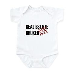 Off Duty Real Estate Broker Infant Bodysuit