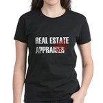 Off Duty Real Estate Appraise Women's Dark T-Shirt