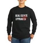 Off Duty Real Estate Appraise Long Sleeve Dark T-S