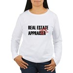 Off Duty Real Estate Appraise Women's Long Sleeve