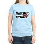 Off Duty Real Estate Appraise Women's Light T-Shir
