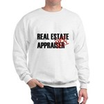 Off Duty Real Estate Appraise Sweatshirt