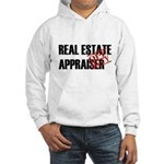 Off Duty Real Estate Appraise Hooded Sweatshirt