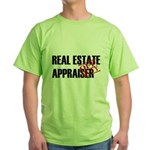 Off Duty Real Estate Appraise Green T-Shirt