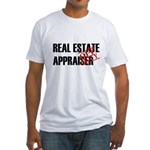 Off Duty Real Estate Appraise Fitted T-Shirt