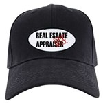 Off Duty Real Estate Appraise Black Cap