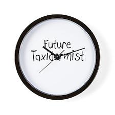 Future Taxidermist Wall Clock