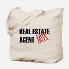 Off Duty Real Estate Agent Tote Bag