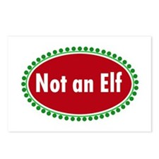 NOT AN ELF Postcards (Package of 8)