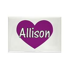 Allison Rectangle Magnet