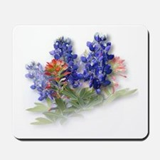 Bluebonnets with Indian Paint Mousepad