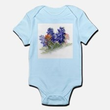 Bluebonnets with Indian Paint Infant Creeper