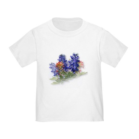 Bluebonnets with Indian Paint Toddler T-Shi