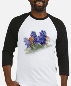 Bluebonnets with Indian Paint Baseball Jersey