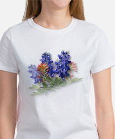 Bluebonnets with Indian Paint Tee