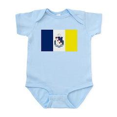 Shreveport Flag Infant Creeper