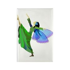 Dancing Fairy Rectangle Magnet
